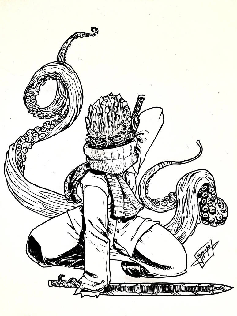Your boi Pulpo  by yuoma