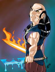 Kroks first elemental dragon swords