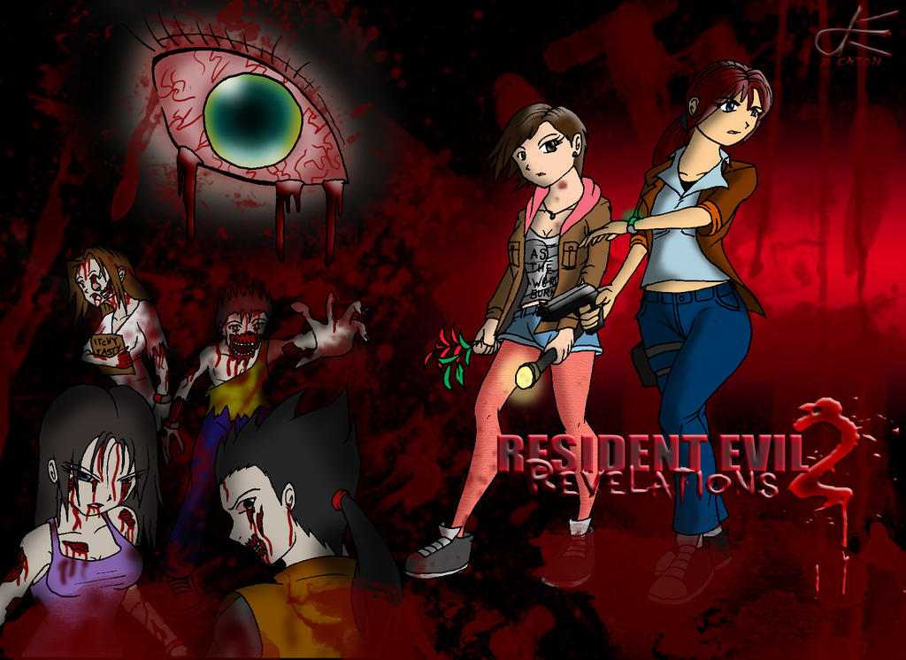20140910 - RE Revelations 2 Wallpaper by Dustin-The-Grimm