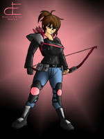 20161022 - Kimberly Hart - MMPR Pink Ver. by Dustin-Eaton-Works