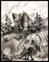 The Golem Awakens by EthalenSkye