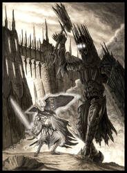 Of Morgoth and Fingolfin by EthalenSkye