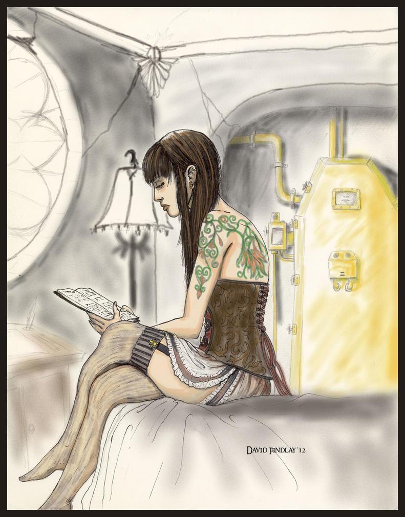 Steamgirl by EthalenSkye