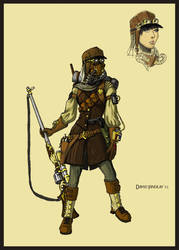 Desert Steamgirl