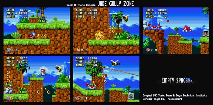Sonic X-Treme Genesis: Jade Gully Zone
