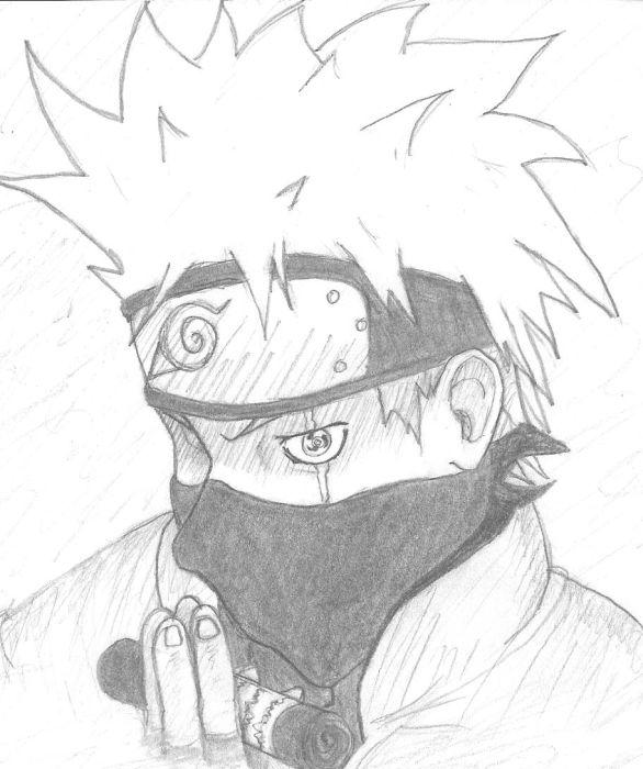 Kakashi drawing by Knuckles-Da-Crippled on DeviantArt