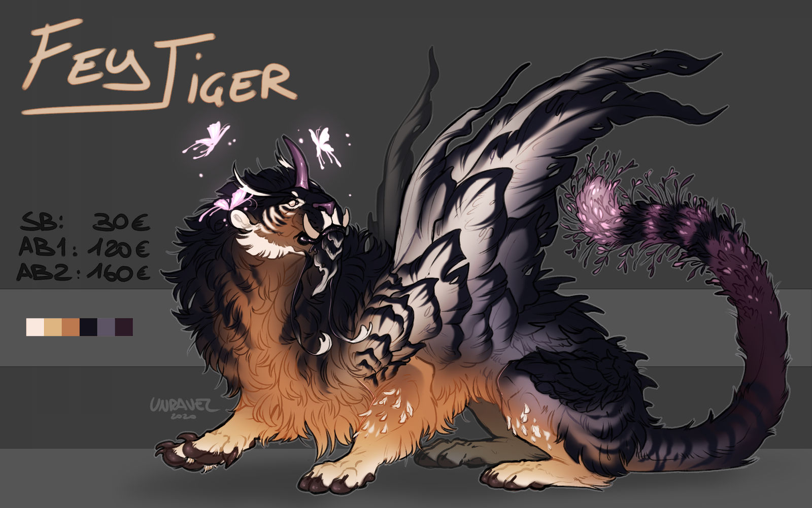 AUCTION adopt - FeyTiger - closed