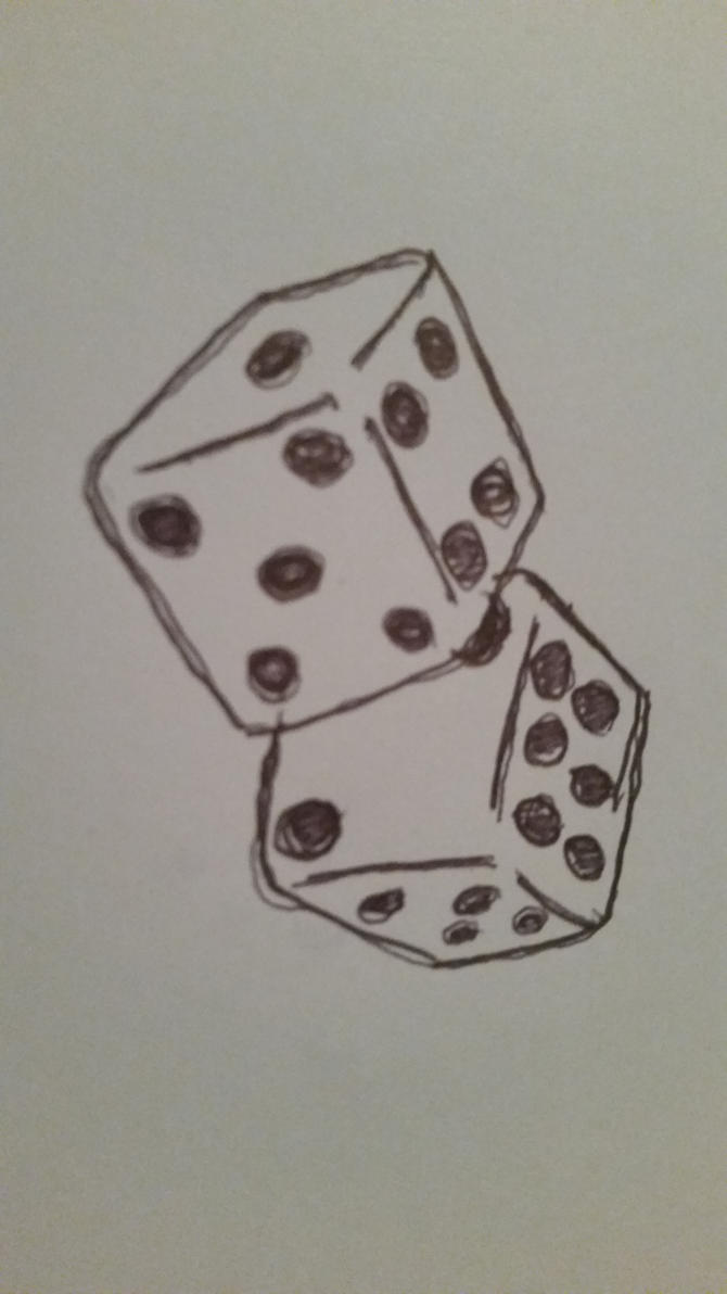 dice by RainyBlacksmith