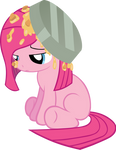 pinkie under the pie