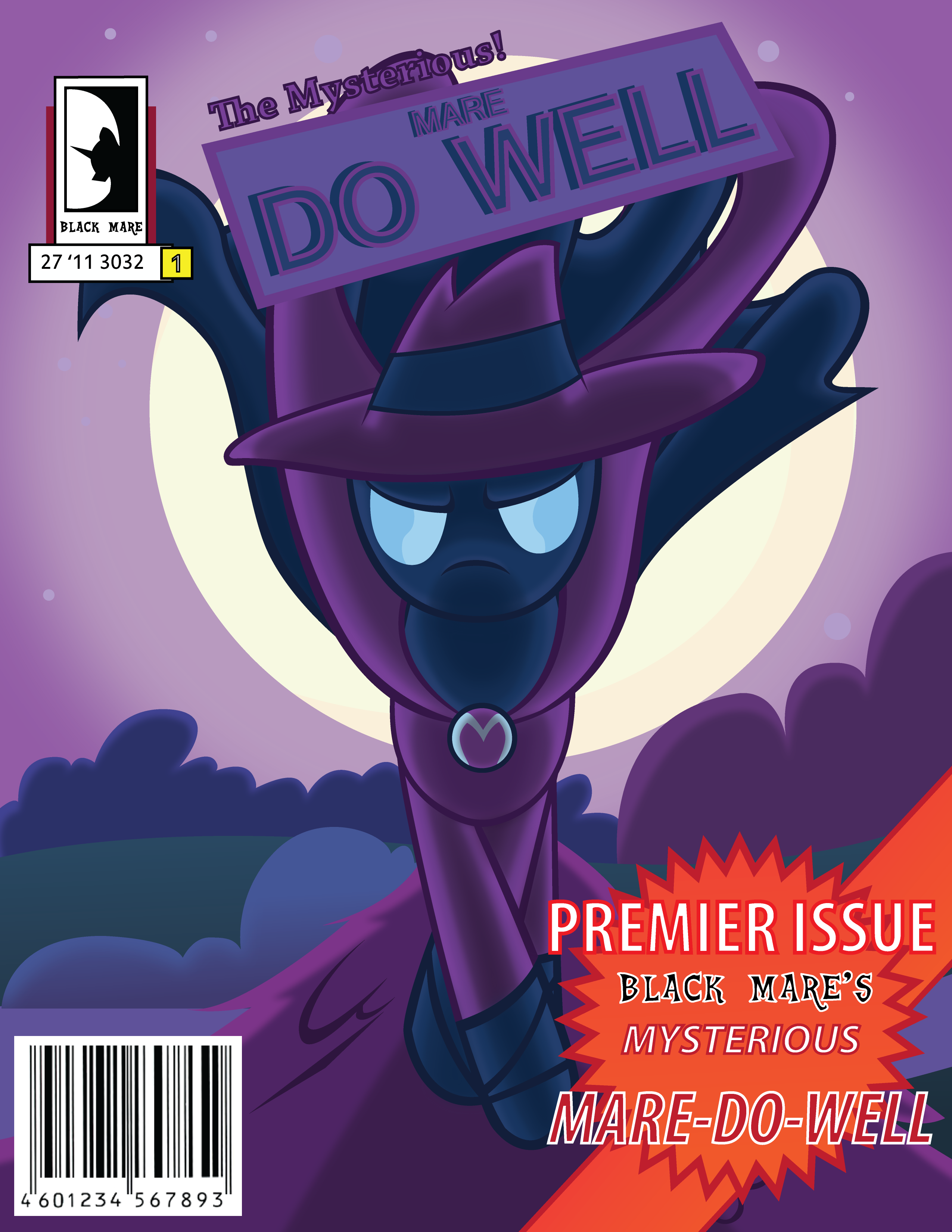 Mysterious Mare Do Well Premier Issue by MikeTheUser