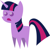Little Sad Twilight Figure. by MikeTheUser