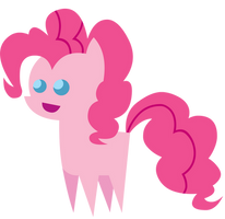 Little Happy Pinkie Pie Figure by MikeTheUser