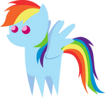 Little Rainbow Dash Figure