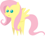 Little Not So Amused Fluttershy Figure