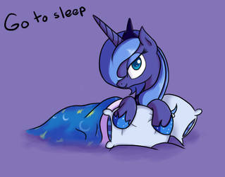 Go to sleep. by MikeTheUser