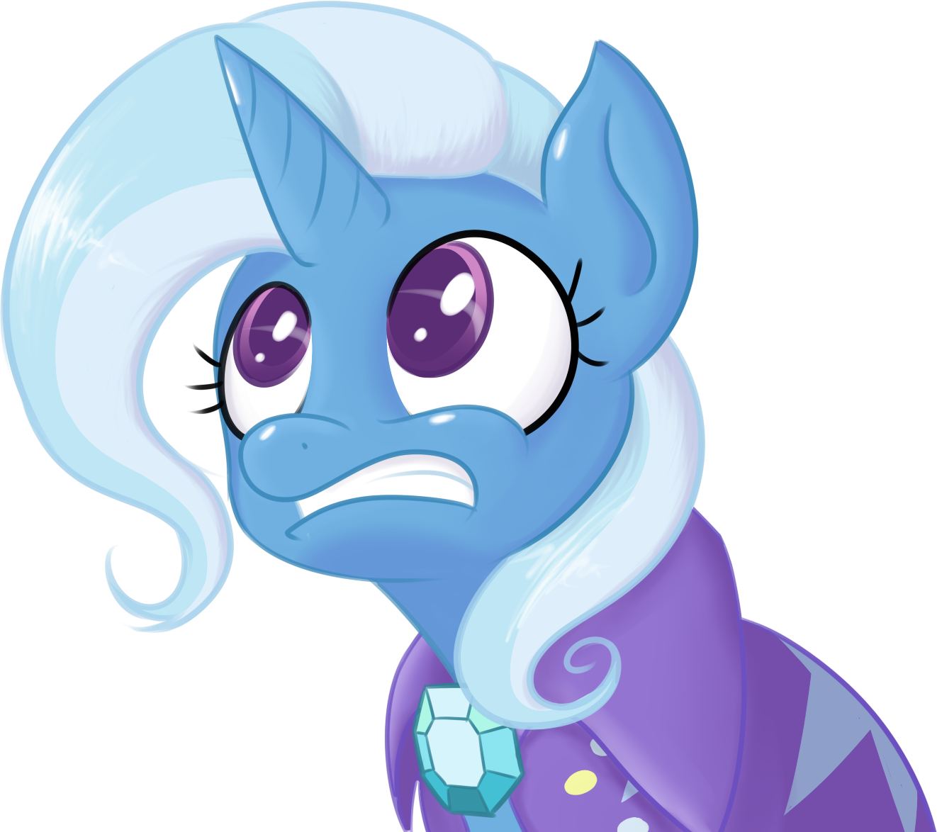 Trixie face by MikeTheUser
