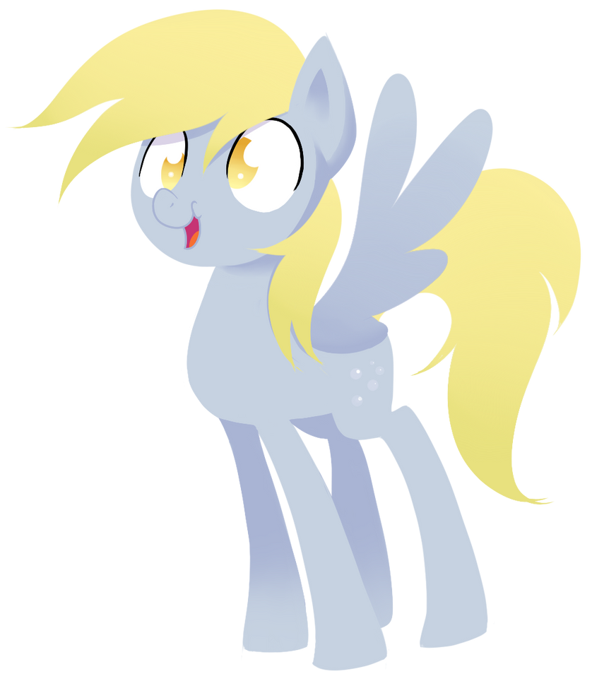 a_very_stylistic_derpy_hooves__by_miketh
