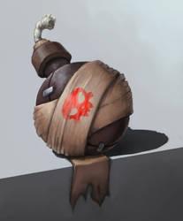 grenade conceptart by MikeTheUser