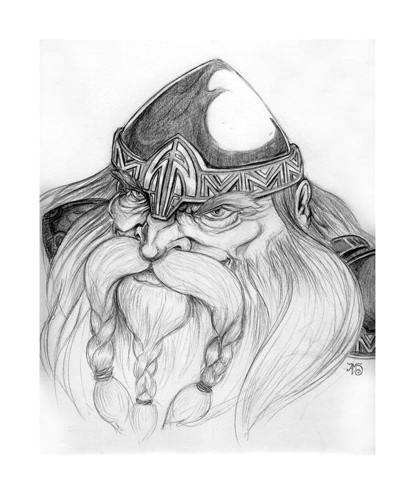 Gimli, Son of Gloin by AndyIomoon