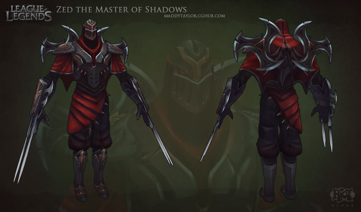 LoL  Zed the Master of...
