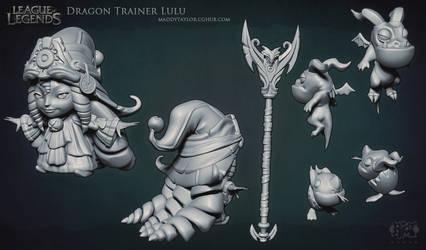 LoL: Dragon Trainer Lulu sculpt