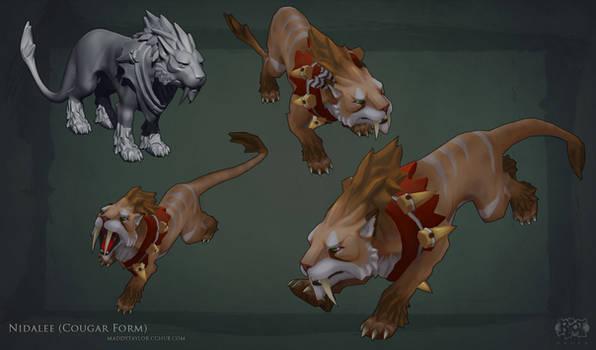 LoL: Nidalee Cougar form