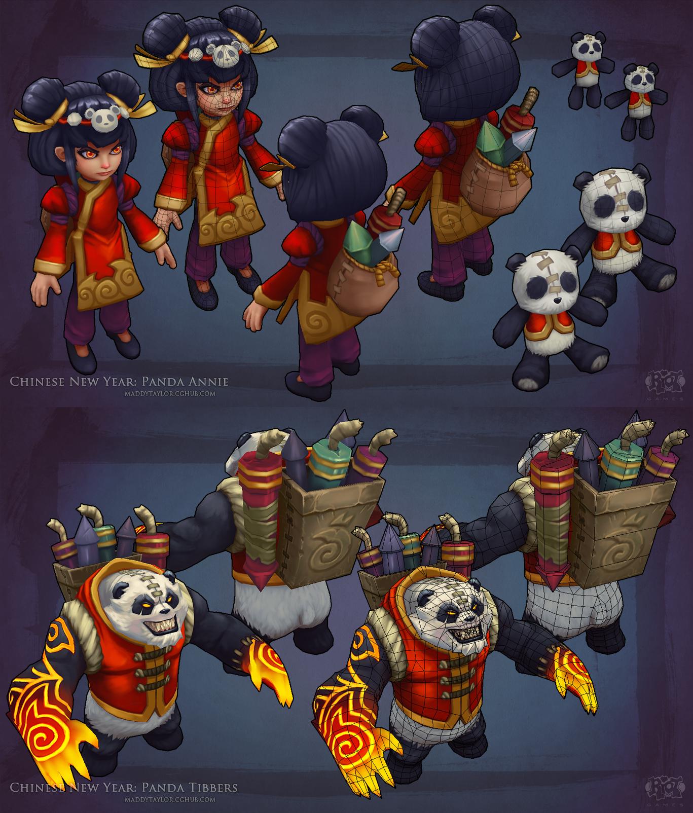 Panda Annie + Tibbers breakdown by MissMaddyTaylor