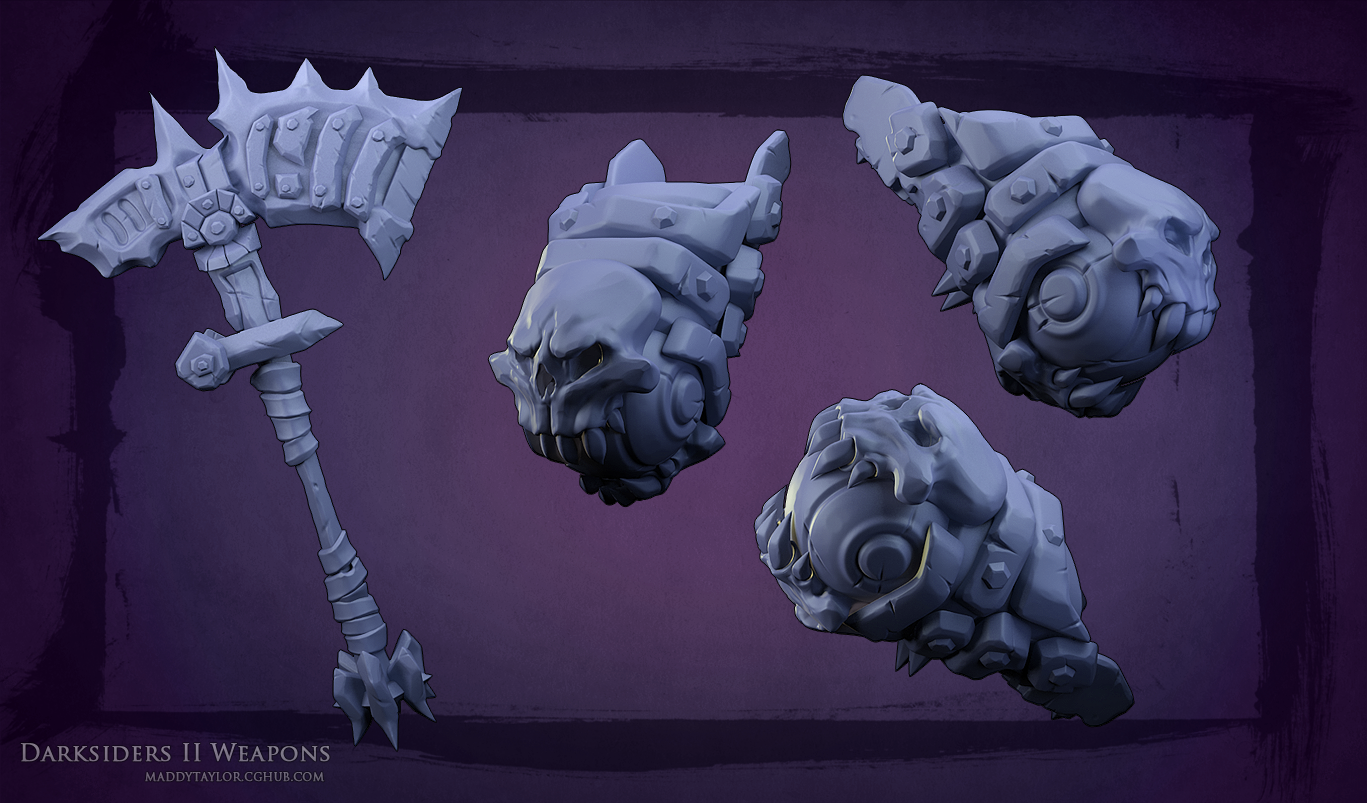 DS2 Weapons by MissMaddyTaylor