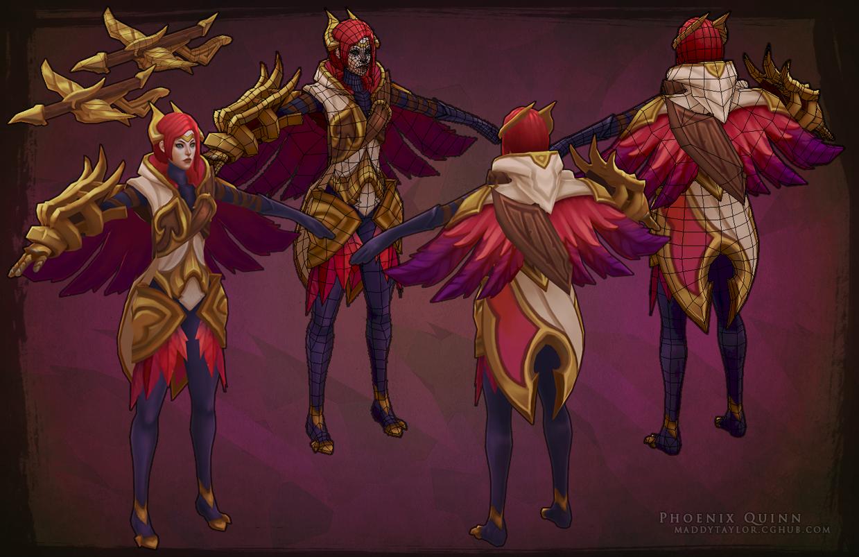 Phoenix Quinn breakdown by MissMaddyTaylor