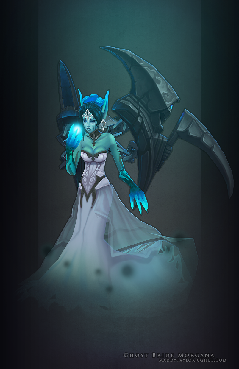 Ghost Bride Morgana beauty by MissMaddyTaylor on DeviantArt