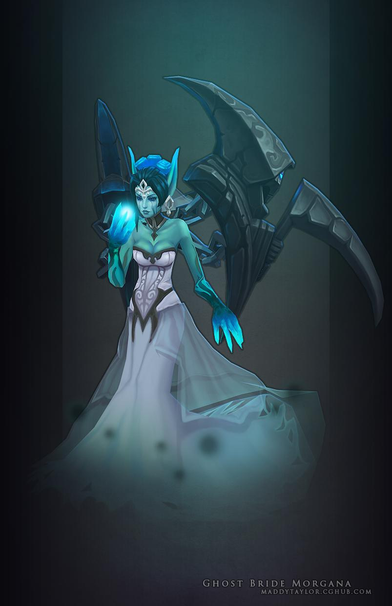 Ghost Bride Morgana beauty by MissMaddyTaylor on DeviantArt