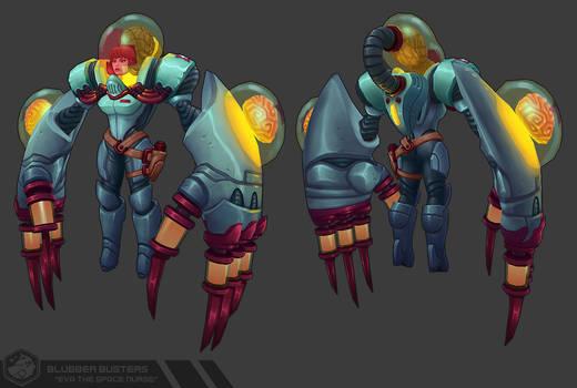 Blubber Busters: Eva the Space Nurse
