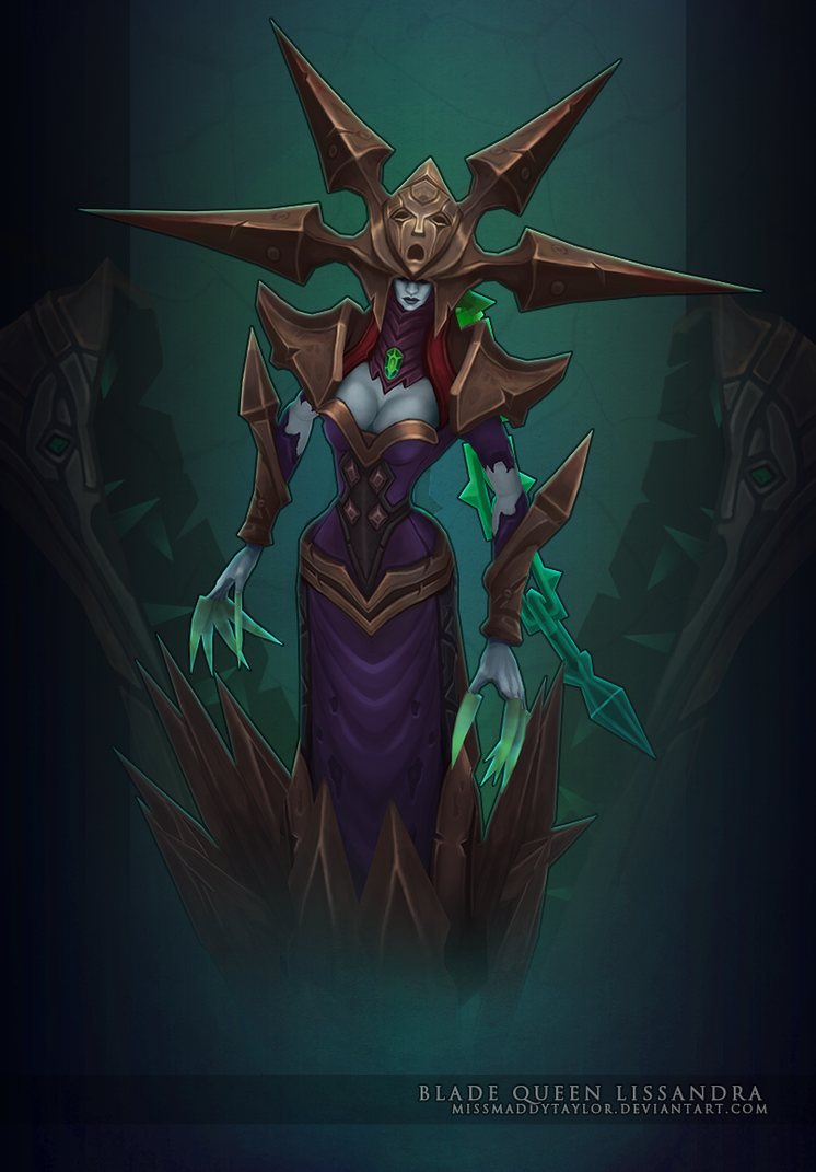 LoL: Blade Queen Lissandra by MissMaddyTaylor on DeviantArt