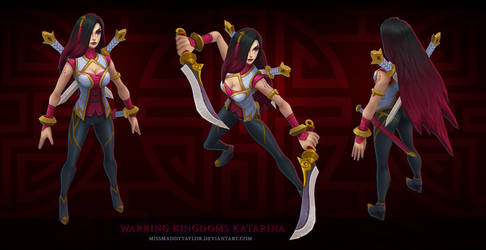 Warring Kingdoms Katarina by MissMaddyTaylor