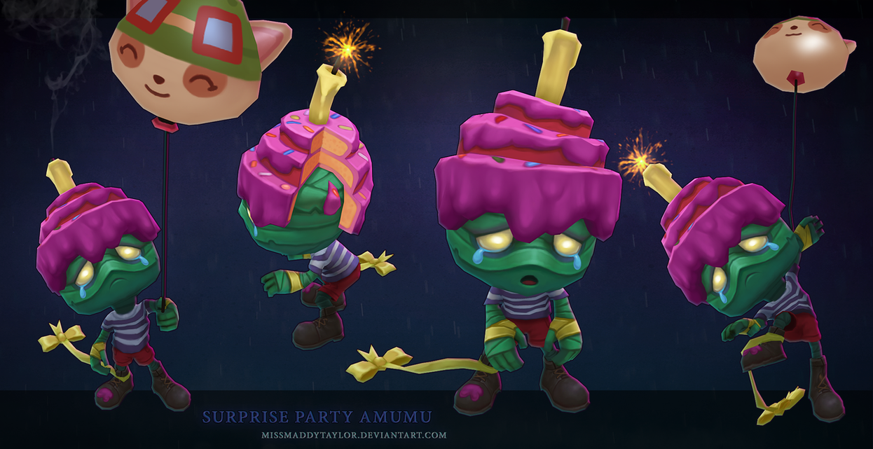 Surprise Party Amumu by MissMaddyTaylor