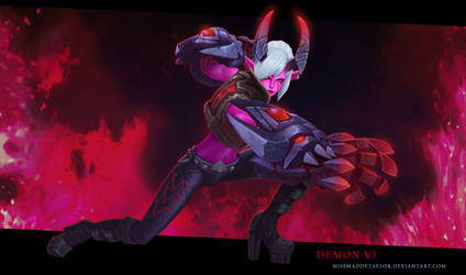 Demon Vi Beauty by MissMaddyTaylor