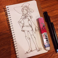 Little Witch Academia study by MissMaddyTaylor