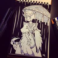 Day 6 - Umbrella by MissMaddyTaylor