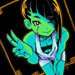 Monster Girl Selfie
