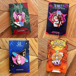 Halloween Girl Pins by MissMaddyTaylor