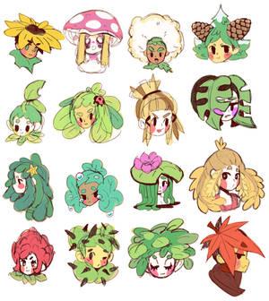Plant Girls