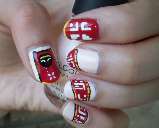 Journey (Game) Inspired Nail Art Design by Itsbejarano on DeviantArt