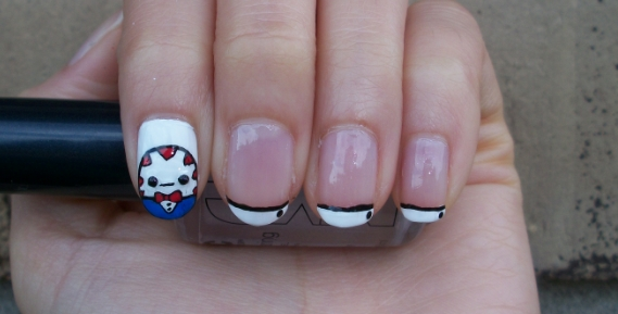 Peppermint Butler Nail Art Design By Itsbejarano On Deviantart