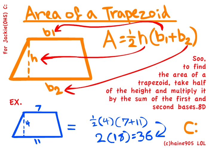 Area of a trapezoid for jackie by haine905 on deviantart area of a trapezoid for jackie by haine905 ccuart Choice Image