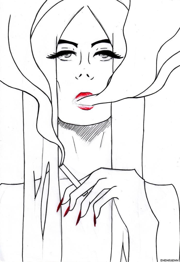 Mushroom queen by EnenraEnn