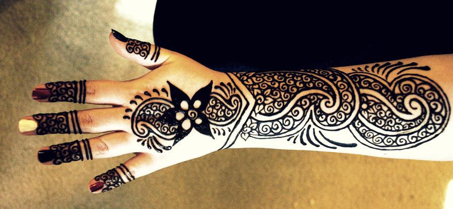 Lower Arm Henna Tattoo: Henna Arm Tattoo By Catty01 On DeviantArt