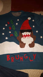 Bruhgly Christmas Sweater by Domenuendo