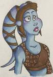 Star Wars - Aayla Secura 3 by Lacedra