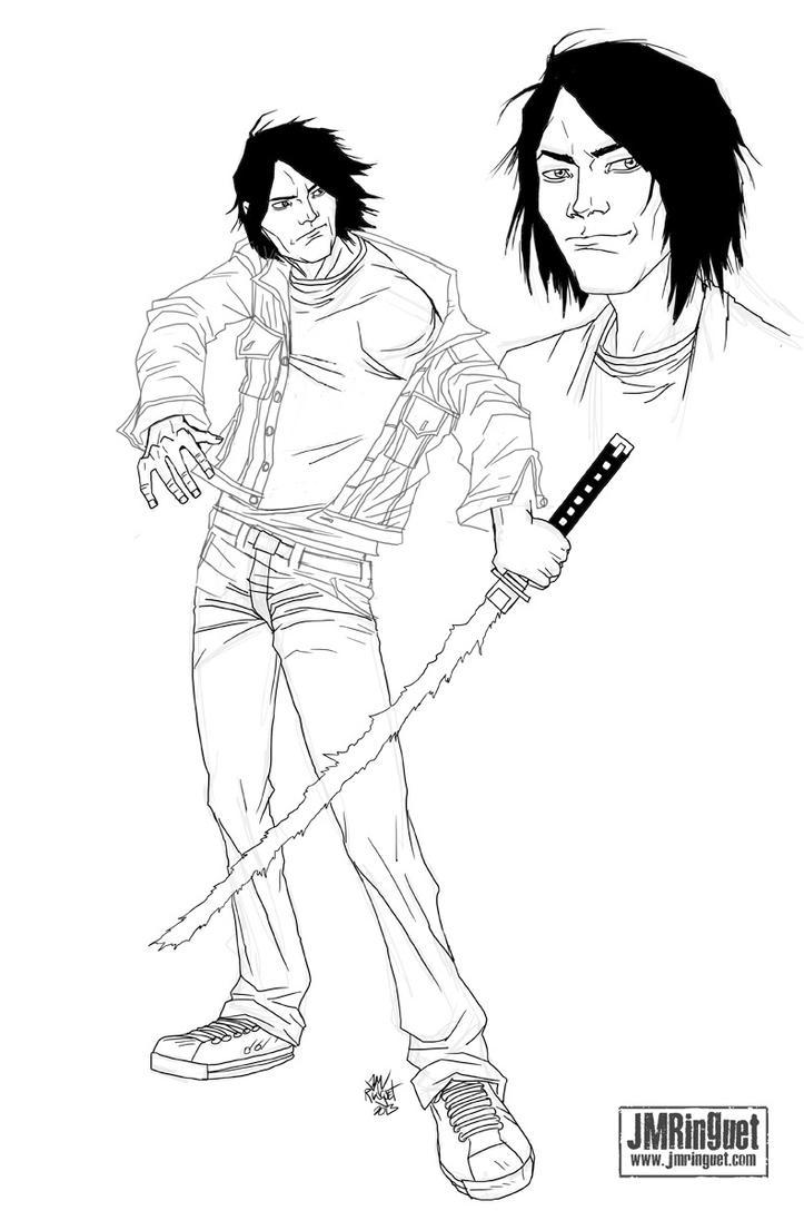 'Light Katana Teen Hero' by jmringuet
