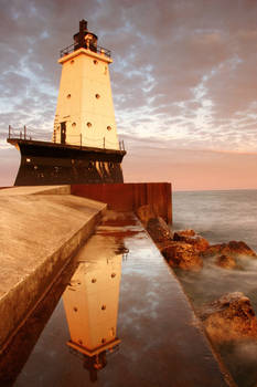 Ludington Breakwater, Michigan